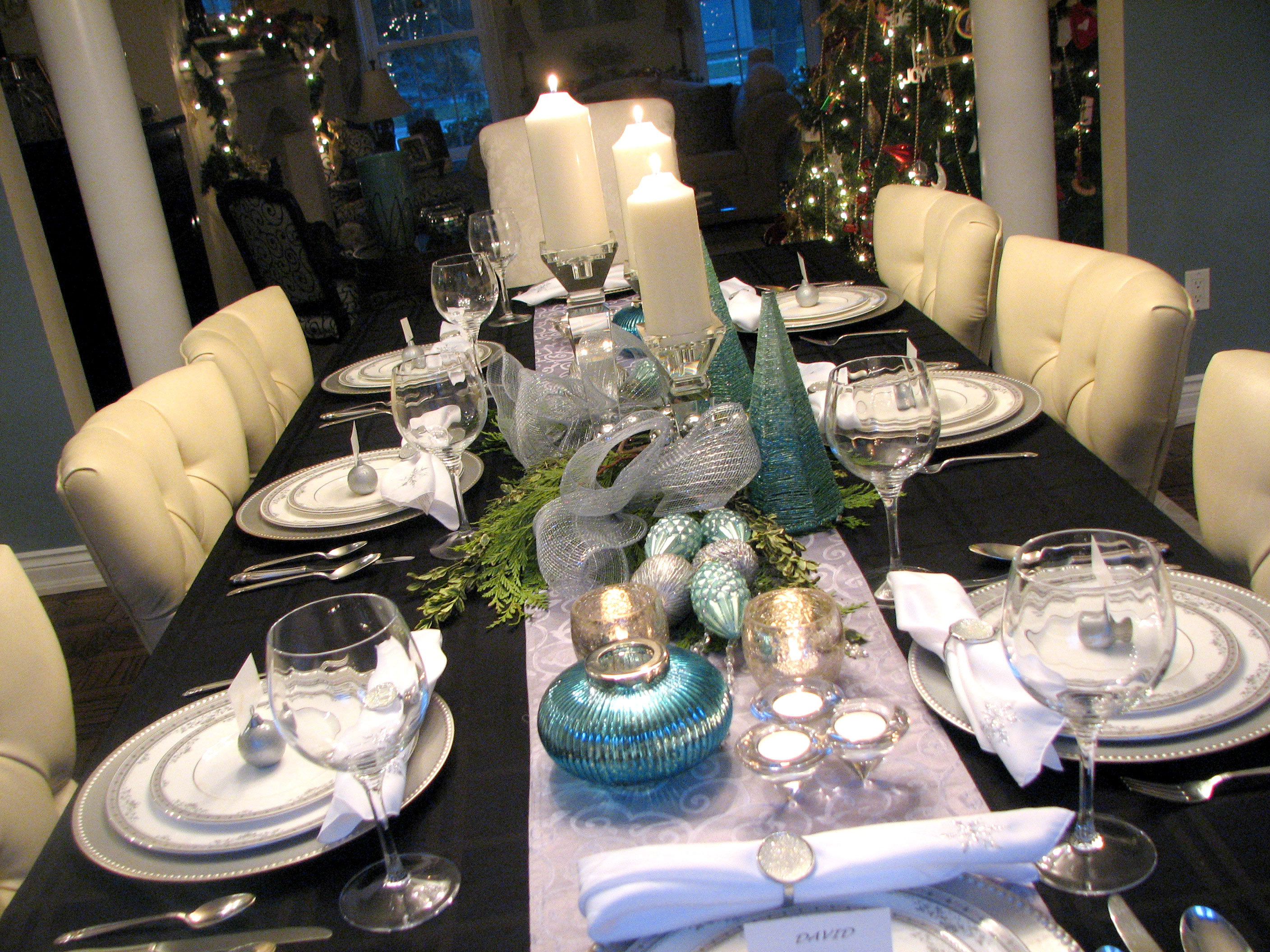 HOLIDAY /NEW YEARS TABLESCAPES