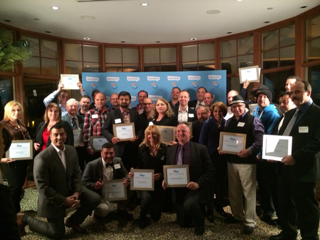 Felicia Homestars Award Group Shot