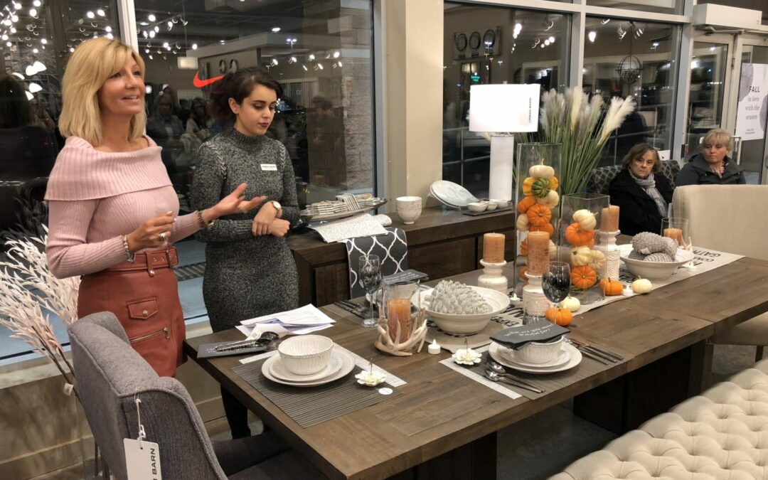 FELICIA HOSTS FALL WORKSHOP AT URBAN BARN OAKVILLE