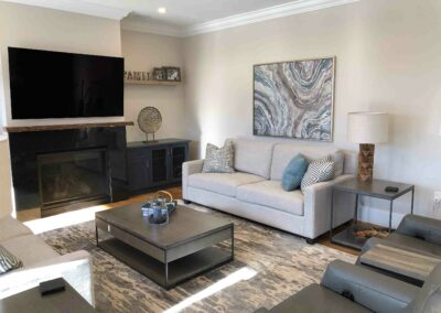 Ingledene Living Room by The Expert Touch Interior Design