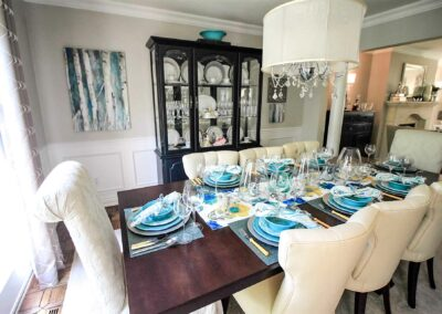 Pleasant View Dining Room by The Expert Touch Interior Design