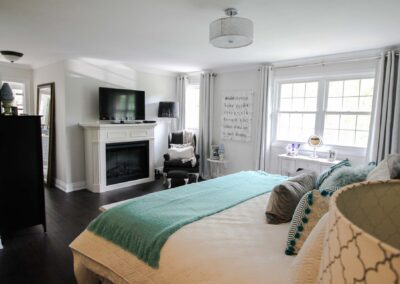 Pleasant View Master Bedroom by The Expert Touch Interior Design