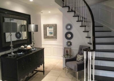Pleasant View Foyer by The Expert Touch Interior Design